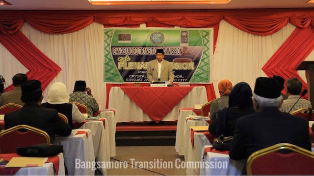 FIRST PLENARY SESSION. The Bangsamoro Transition Council is expected to submit a new draft of the Bangsamoro Law in July. Photo from BTC Facebook page