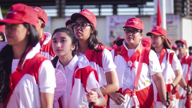 COMPETITIVE. NSPC participants from all 18 regions are in Pagadian City for the 'Olympics of Campus Journalism'. Photo by Vina Salazar/Rappler