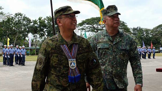 CRITICAL POST. Major General Carlito Galvez Jr assumes leadership of the Armed Forces of the Philippines Western Mindanao Command. Photo by Richard Falcatan/Rappler