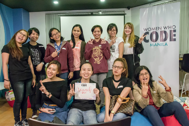 WOMEN IN TECH SCENE. Members of the Women Who Code Manila during its launch at Bitspace Makati on January 20, 2017. All photos from Women Who Code Manila