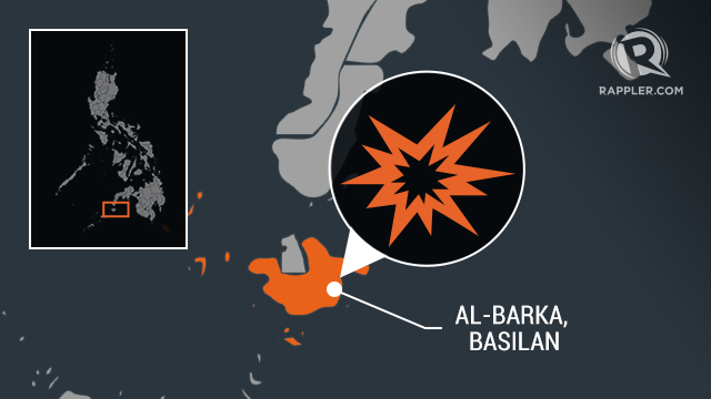 EXPLOSION. The military blames the Abu Sayyaf Group for the explosion that killed 2 children and injured 3 others in Albarka, Basilan.