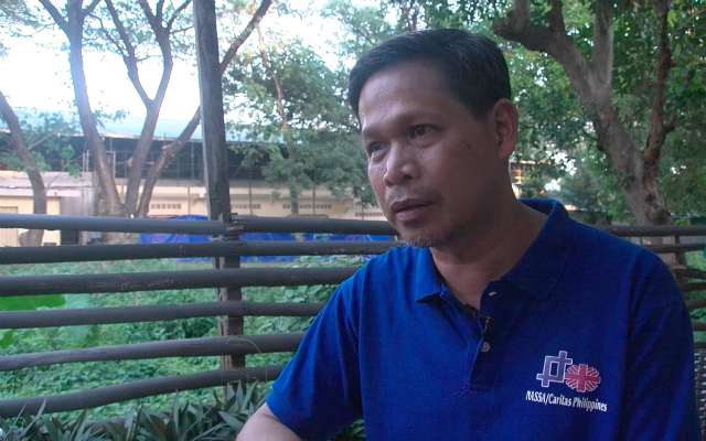 IP RIGHTS. Fr Edwin Gariguez says many indigenous communities in Palawan still don't have titles to their ancestral lands. Photo by Jeff Digma/Rappler