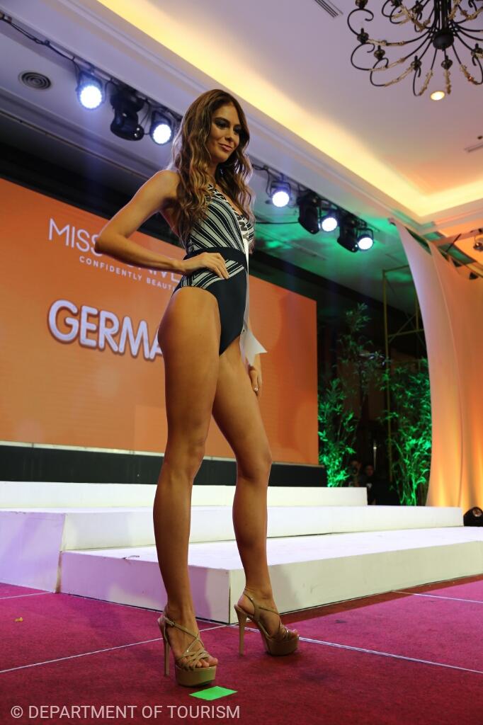 The contestants of Miss Universe 2016 in swinsuit presentation Cebu17_wm