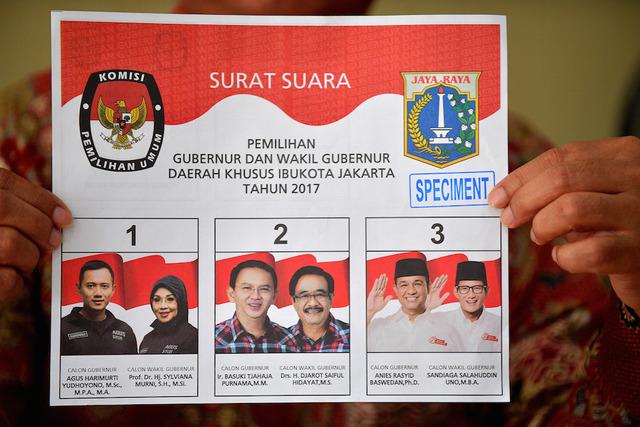 Surat Suara Dalam Pemilu Indonesia Ballot Papers Hompimpaid