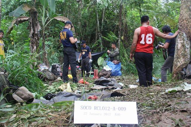 FIRST SHOT. A fatal encounter in Makilala, North Cotabato was the first to break the 5-month-old ceasefire between the military and the NPa. Photo from AFP's 10th Infantry Division