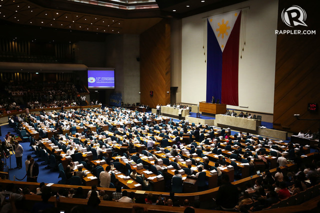 FINAL VOTE. A total of 272 out of 293 members of the House of Representatives showed up on March 7, 2017, for the final reading of the bill reintroducing the death penalty. The yes vote won. Photo by Ben Nabong/Rappler